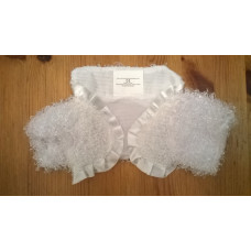 Fluffy Bolero Jacket