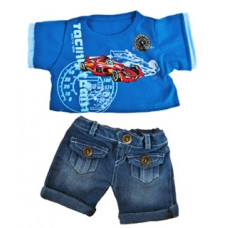 Cool Racecar Outfit - 2pc