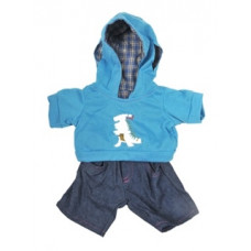 Dinosaur Hoodie Outfit - 2pc