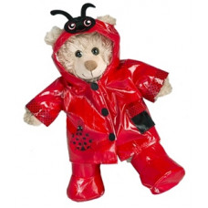 Ladybird (Ladybug) Raincoat and Boots - 3pc