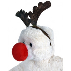 Reindeer Antlers and Red Nose - 2pc