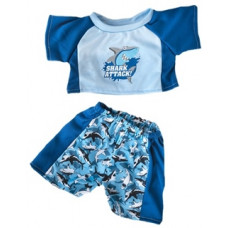 Shark Swimming Outfit - 2pc